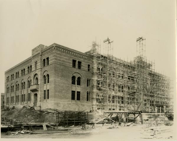 Construction of Kinsey Hall, November 1, 1928