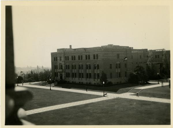 View of Kinsey Hall, ca. 1937