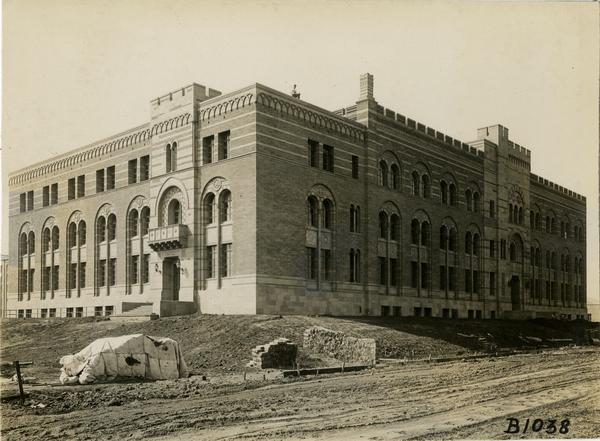 View of Kinsey Hall