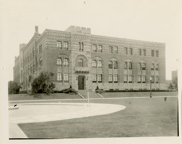 View of North Wing of Kinsey Hall, ca. 1934