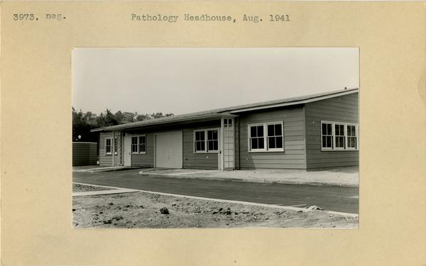Pathology Headhouse, August 1941