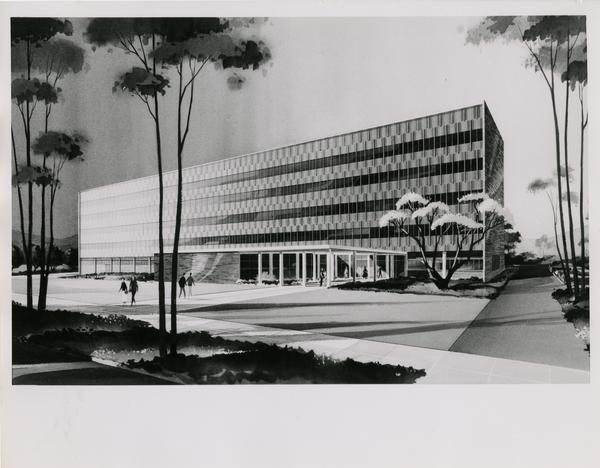 Rendering of Plant Science Building