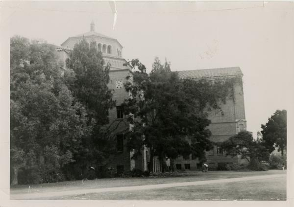 View of Powell Library