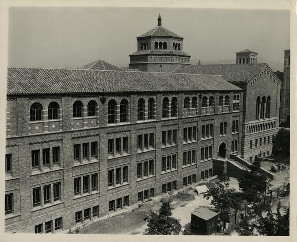 Exterior of Powell Library