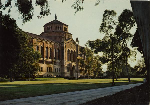 Exterior view of Powell Library