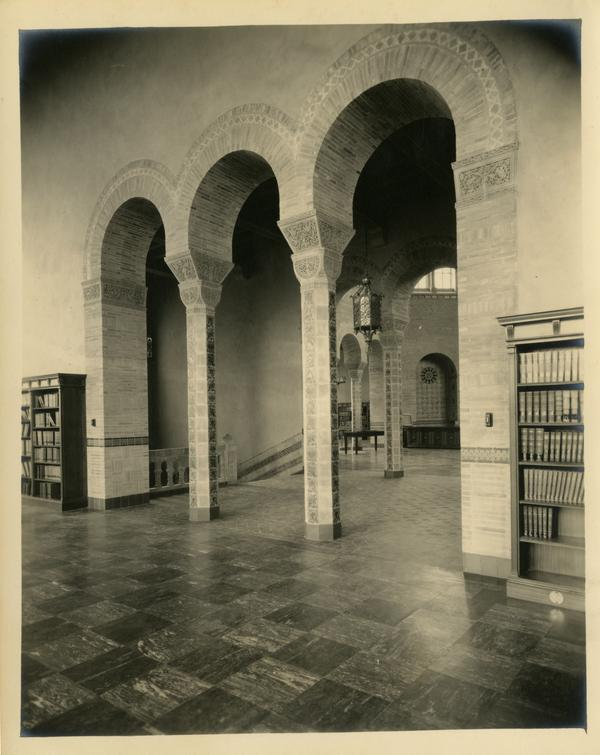 Interior view of Powell Library