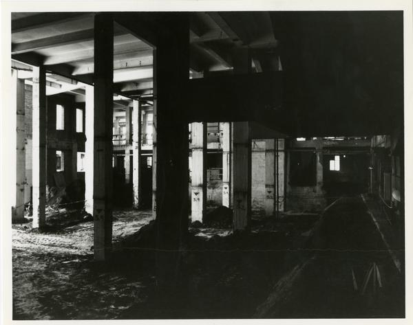 Renovation of Powell Library, 1992