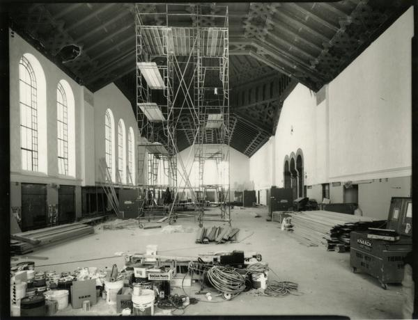 Renovation of Powell Library