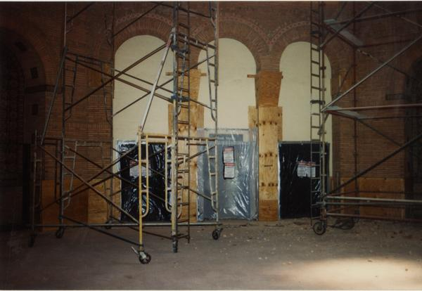 Powell Library renovations