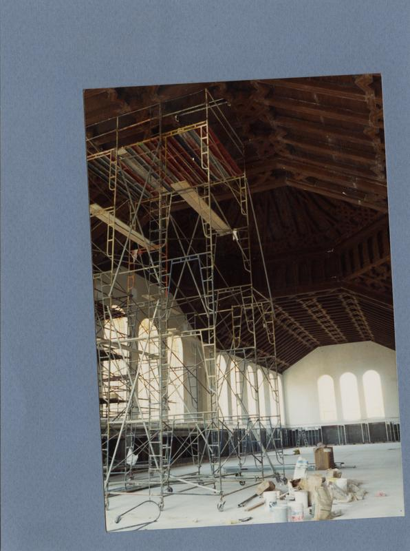 Seismic renovation at Powell Library