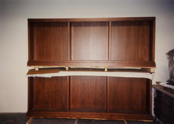 Furniture construction for Powell Library seismic renovation