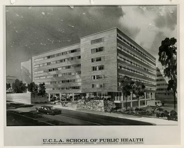 Rendering of School of Public Health