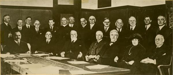 Board of Regents meeting at UCLA, ca. 1957