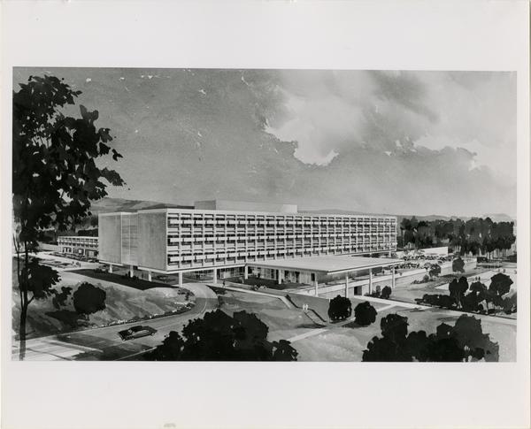 Rendering of the UCLA Rehabilitation Center