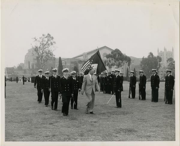 Navy ROTC Review day, ca. 1953