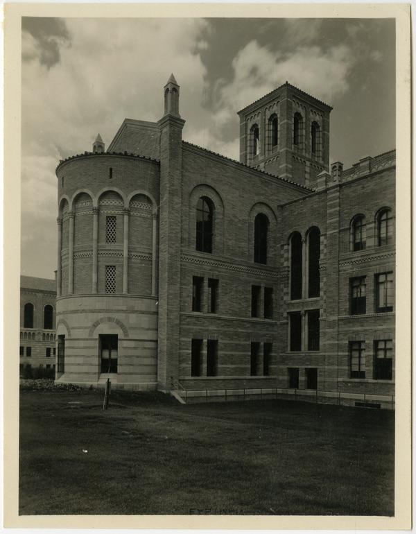 Exterior view of Royce Hall
