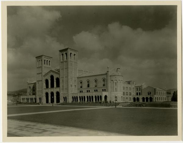 View of Royce Hall from Humanities Building