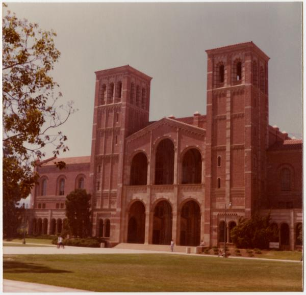 View of Royce Hall, July 7, 1978