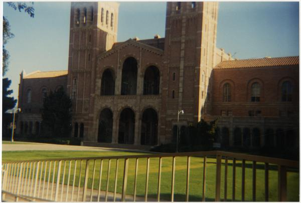 View of Royce Hall, ca. 1987