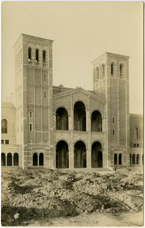 Royce Hall under construction, ca. 1929