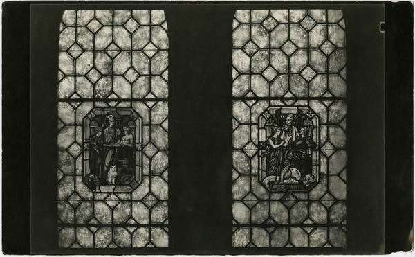 Royce Hall stained glass windows, ca. 1929