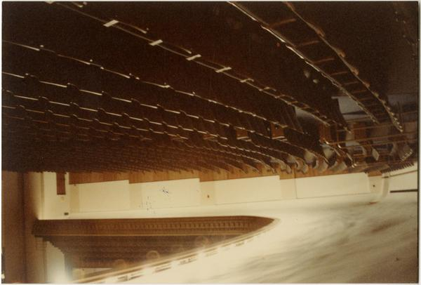 Royce Hall auditorium after remodeling, ca. 1984