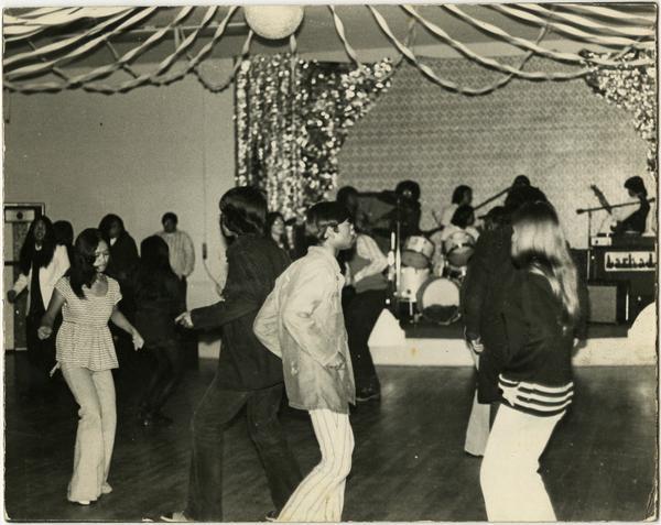Guests dancing at Pilipino Cultural Night