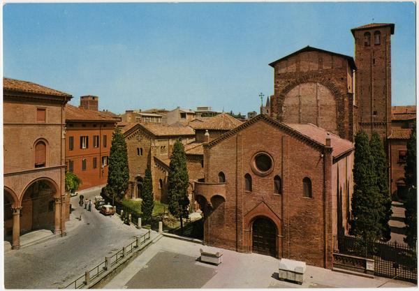 Santa Stefano basilica in Bologna Italy
