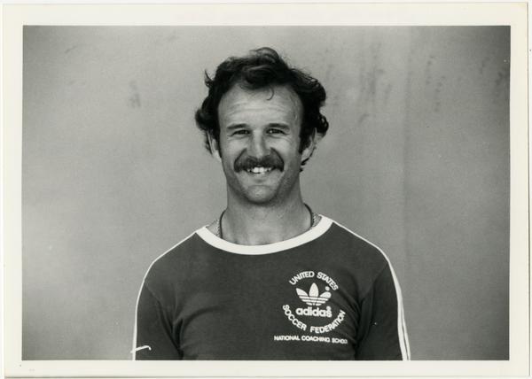 Photo of UCLA soccer coach, Steve Gay
