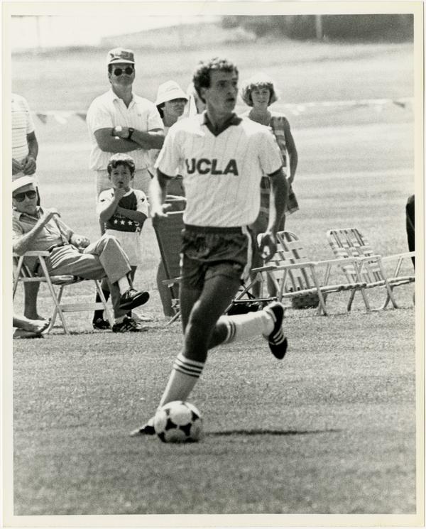 UCLA soccer player, Pieter Lehrer