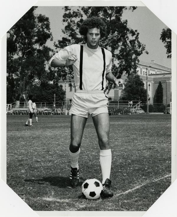 UCLA soccer fullback, Terry Lippman, ca. 1974