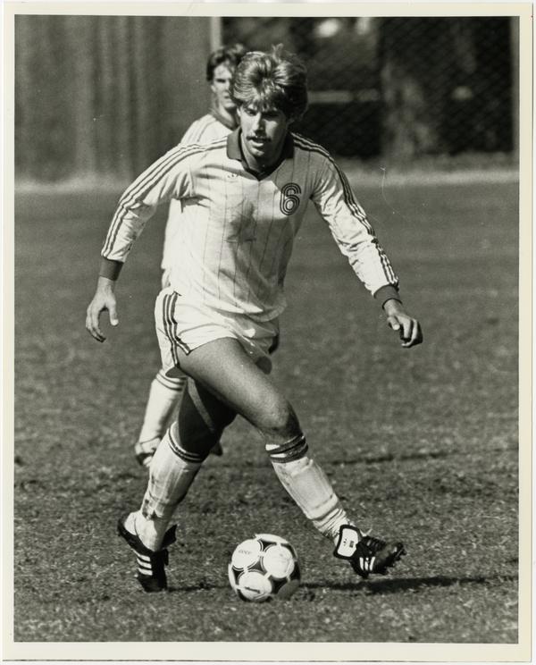 UCLA soccer forward, Roland Schmid