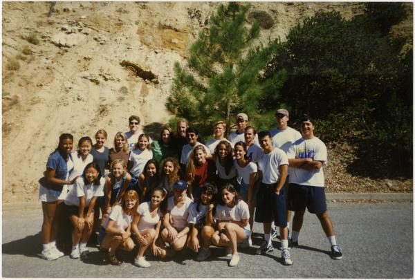 Photo of Spirit Squad, August 10, 1996