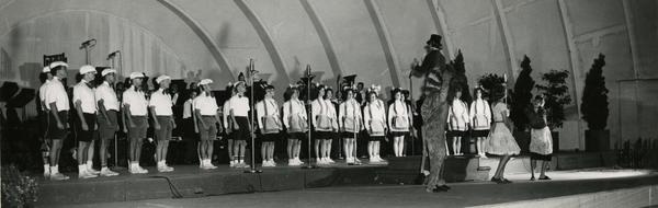Spring Sing at Hollywood Bowl, ca. 1963