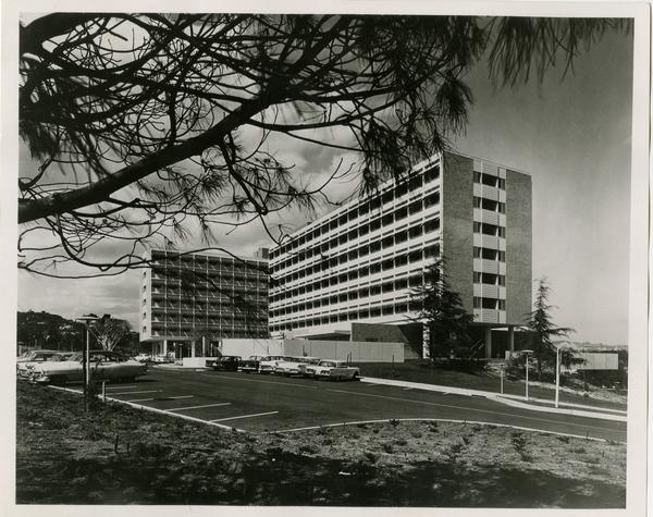 Sproul Residential Hall, ca. 1960