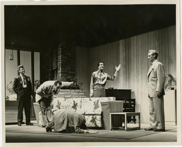 """Theater Arts Department production, """"Boy Meets Girl"""" on main stage in Royce Hall"""