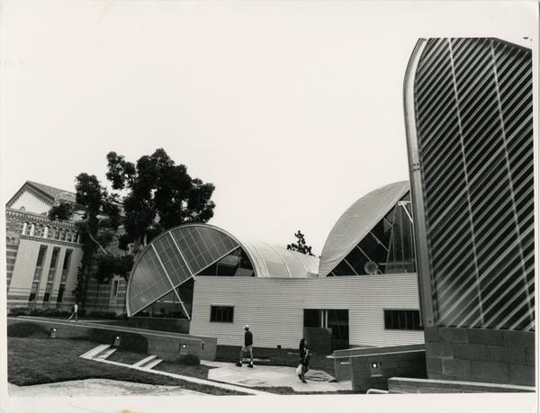 Temporary Powell Library
