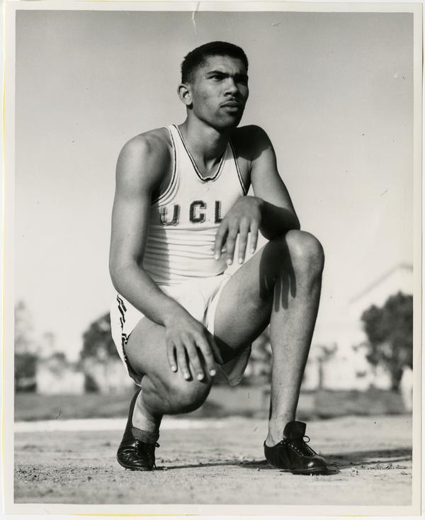 UCLA track team member, George Brown