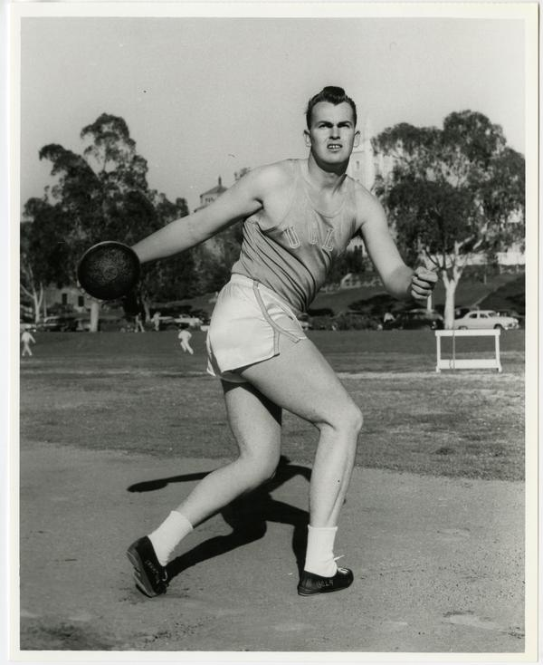 Ron Drummond 1956 Captain and NCAA discus champion