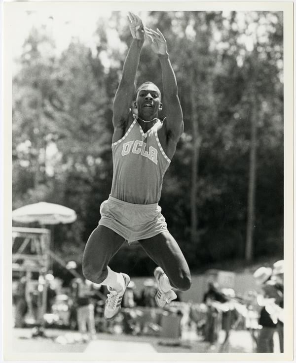 Senior UCLA Track team member, Darryl Taylor