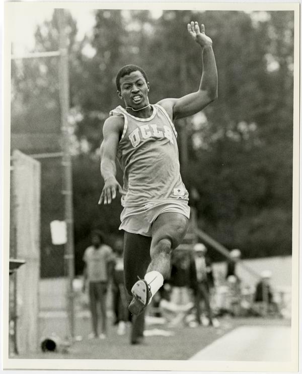UCLA long jumper, Ron Taylor