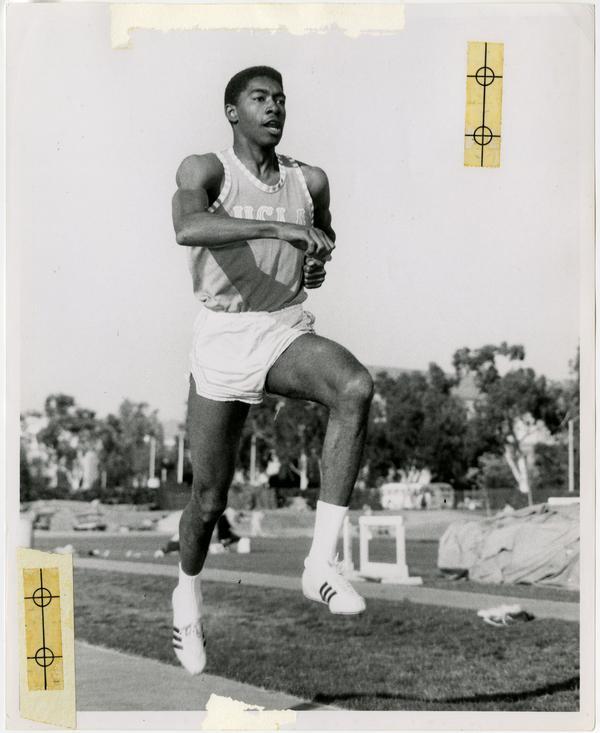 Track team member, Gerald Lee