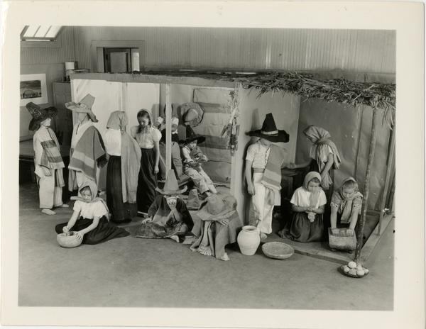 Student production at Training School, ca. 1950