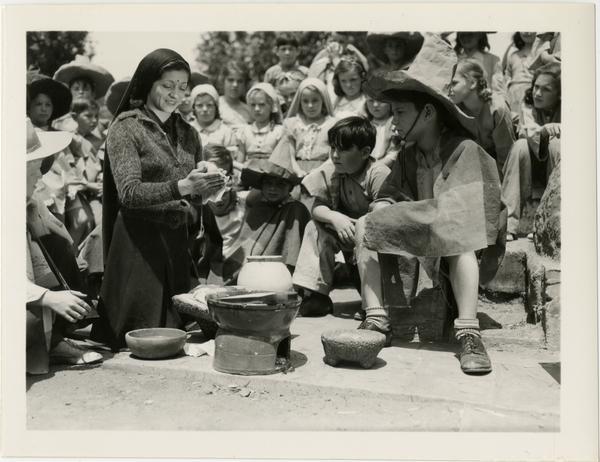 Student production at Training School, ca. 1950
