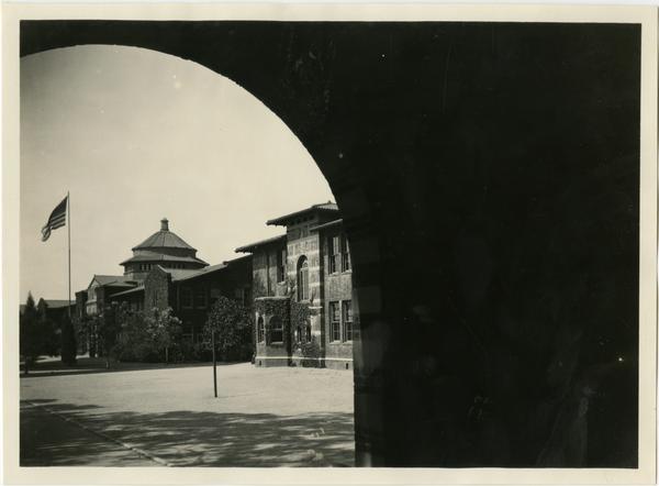 Exterior view of Training School