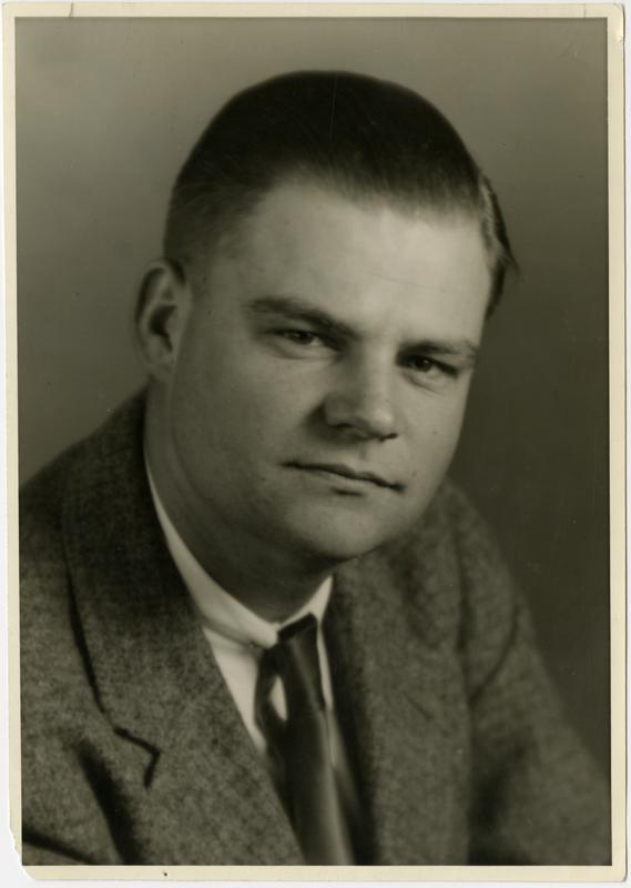 Portrait of Robert W. Webb, June 22, 1947