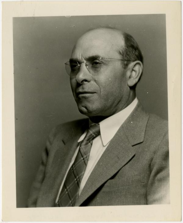 Portrait of Dr. Constantine Panunzio, Sociology Department