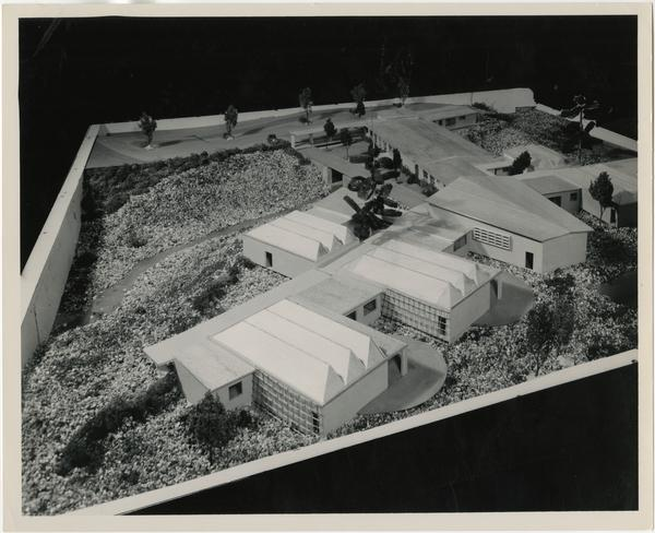 University Elementary School architectural model