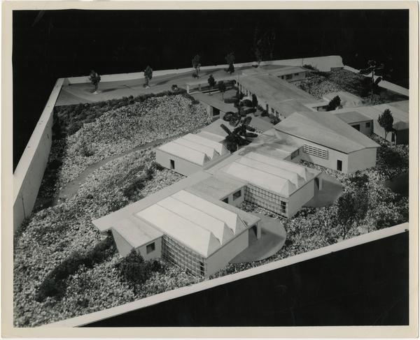University Elementary School architectural model