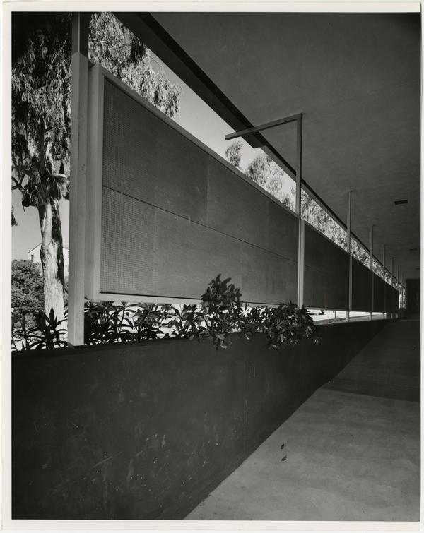 Interior view of black board